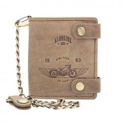 Бумажник Klondike «Tim Bike» в коричневом цвете \ KD1027-02