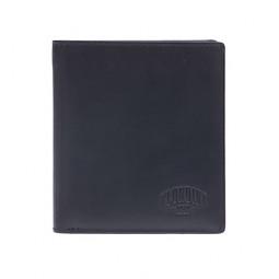 Бумажник KLONDIKE Dawson, натуральная кожа в черном цвете, 9,5 х 2 х 10,5 см \ KD1118-01