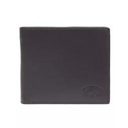 Бумажник KLONDIKE Claim, натуральная кожа в коричневом цвете, 12 х 2 х 10 см \ KD1104-03