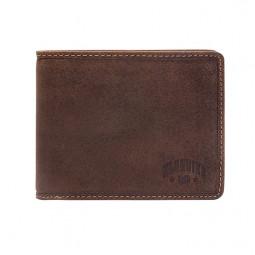 Бумажник Klondike «John» в темно-коричневом цвете \ KD1005-01