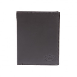 Бумажник KLONDIKE Claim, натуральная кожа в коричневом цвете, 10,5 х 1,5 х 13 см \ KD1100-03
