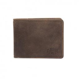 Бумажник Klondike «Peter» в темно-коричневом цвете \ KD1007-01