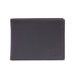 Бумажник KLONDIKE Claim, натуральная кожа в коричневом цвете, 12 х 2 х 9,5 см \ KD1105-03
