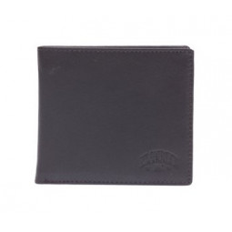 Бумажник KLONDIKE Claim, натуральная кожа в коричневом цвете, 12 х 2 х 9,5 см \ KD1107-03