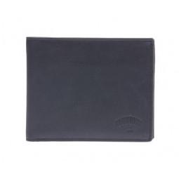 Бумажник KLONDIKE Dawson, натуральная кожа в черном цвете, 12 х 2 х 9,5 см \ KD1120-01