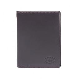 Бумажник KLONDIKE Claim, натуральная кожа в коричневом цвете, 10 х 2 х 12,5 см \ KD1101-03