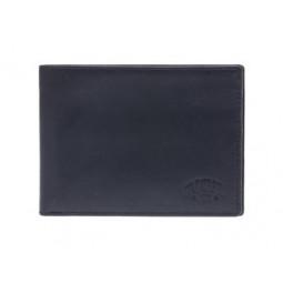 Бумажник KLONDIKE Dawson, натуральная кожа в черном цвете, 13 х 1,5 х 9,5 см \ KD1121-01