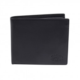 Бумажник KLONDIKE Claim, натуральная кожа в черном цвете, 12 х 2 х 10 см \ KD1104-01
