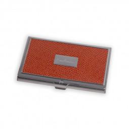 Визитница Pierre Cardin, оранжевая \ PC1139orange
