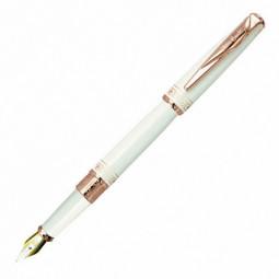 Перьевая ручка Pierre Cardin Secret Business, белая с орнаментом \ PCA1063FP
