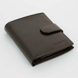 Портмоне S.Quire, коричневое, гладкое \ 5600-BR VT