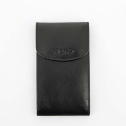 Визитница S.Quire, черная, гладкая \ 5800-BK VT