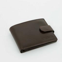 Портмоне S.Quire, коричневое, гладкое \ 5500-BR VT