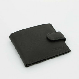 Портмоне классическое S.Quire, черное \ 4300-BK Soft