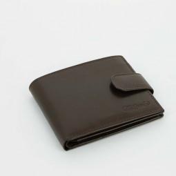 Портмоне S.Quire, коричневое, гладкое \ 5200-BR VT