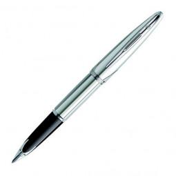 Перьевая ручка Waterman Carene Silver Meridians. Перо - золото 18К \ S0700170