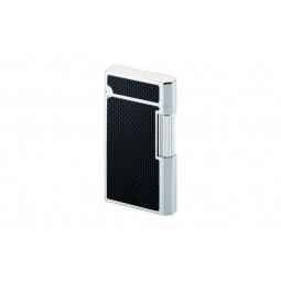 Зажигалка газовая Caran d'Ache Carbon Fibre Silver \ CR 5836-426
