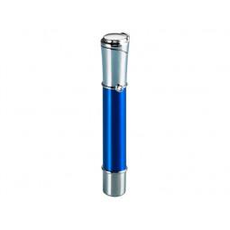 Зажигалка газовая Sarome SK151 Silver Blue \ SR SK151-04
