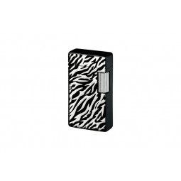 Зажигалка газовая Sarome SD1 Black Zebra Pattern \ SR SD1-58