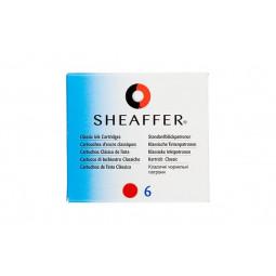 Картридж для перьевой ручки Sheaffer, цвет: красный \ SH 96243