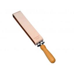 Ремень для правки опасной бритвы с рукояткой DOVO \ 186210011