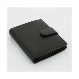 Портмоне черный S.QUIRE \ 4900-BK Soft
