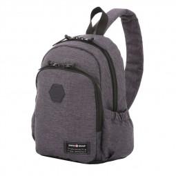 Рюкзак на одно плечо серый SWISSGEAR \ SA2608424521