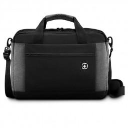 Портфель для ноутбука черный/серый Underground WENGER \ 601057
