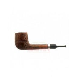 Курительная трубка Barontini Pavia коричневый бласт, без фильтра, форма 5 \ Pavia-05