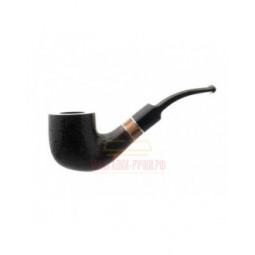 Курительная трубка Barontini Asti черный бласт, 9 мм, форма 1 \ Asti-01