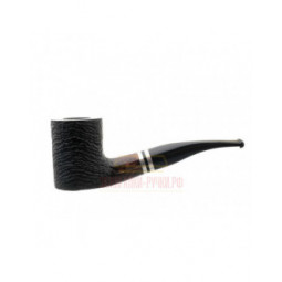 Курительная трубка Barontini Novara черный бласт, 9 мм, форма 1 \ Novara-01