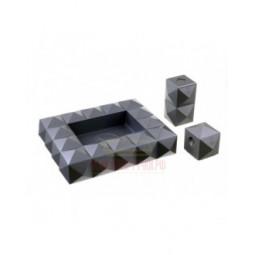 Настольный набор сигарных аксессуаров Colibri \ SET-AT100T3