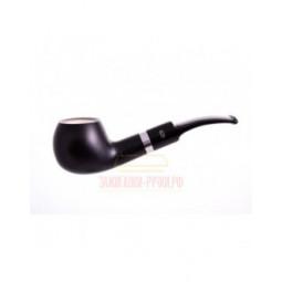 Курительная трубка Gasparini черная с пенкой, форма 35 \ 620-35