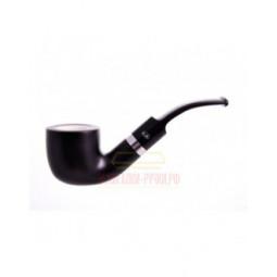 Курительная трубка Gasparini черная с пенкой, форма 33 \ 620-33