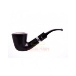 Курительная трубка Gasparini черная с пенкой, форма 39 \ 620-39