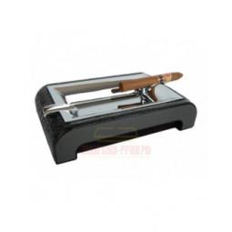 Пепельница настольная Gentili Black Croco \ 930-Croco-Black