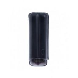 Футляр Jemar на 2 сигары, натуральная кожа \ 110-2-XL-Black
