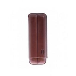 Футляр Jemar на 2 сигары, натуральная кожа \ 110-2-XL-Brown