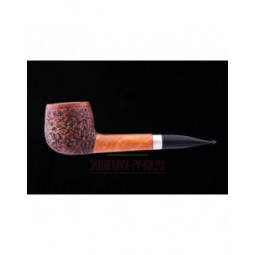 Курительная трубка L'Anatra Rustic Silver \ L451-5