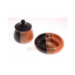Набор из банки для табака и пепельницы Lubinski, керамика \ 520-102-522-002