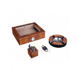 Настольный набор сигарных аксессуаров Lubinski \ SET-QB309