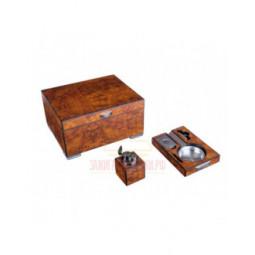 Настольный набор сигарных аксессуаров Lubinski \ SET-QE2540