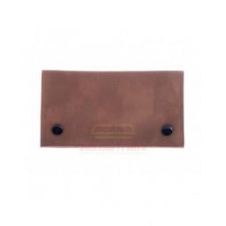 Кисет P&A для самокруток, экокожа, коричневый \ H165-3