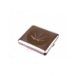 Портсигар Stoll на 18 сигарет, металл \ C44-4