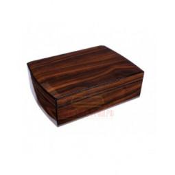 Хьюмидор Tom River с подарочным набором на 25 сигар, Орех \ 569-144