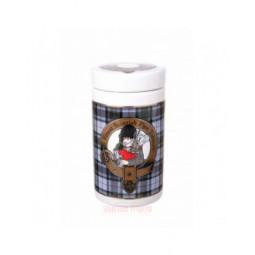 "Банка для табака Lubinski ""Шотландия"", керамика, серая \ DST01"