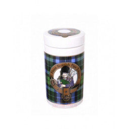 "Банка для табака Lubinski ""Шотландия"", керамика, зеленая \ DST03"