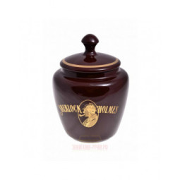 "Банка для табака Lubinski ""Шерлок Холмс"", керамика, большая \ DSH2M"