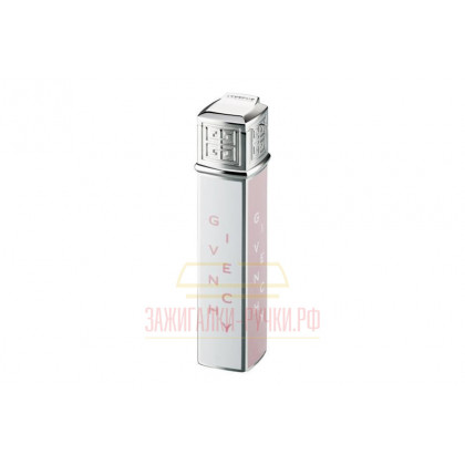 Зажигалка Givenchy DIA-SILVER PINK & WHITE LOGO \ GV 1615
