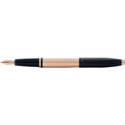 Ручка перьевая CROSS Calais золотистая F \ AT0116-27FF